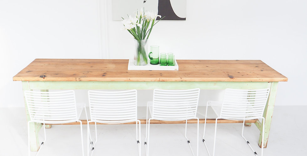 Dutch Painted Pine Table