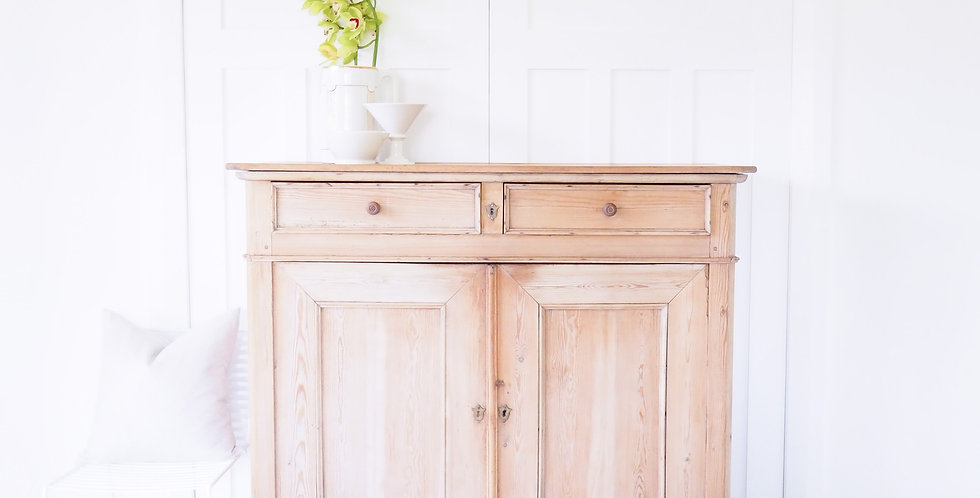 Belgian Cupboard with Hidden Drawer