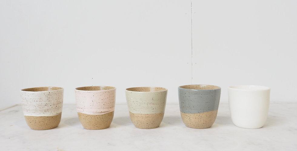 Plum Ceramics - Flat White Tumbler
