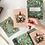 Thumbnail: Bespoke Letterpress 10 Pack Greeting Card Boxset - Mint Christmas