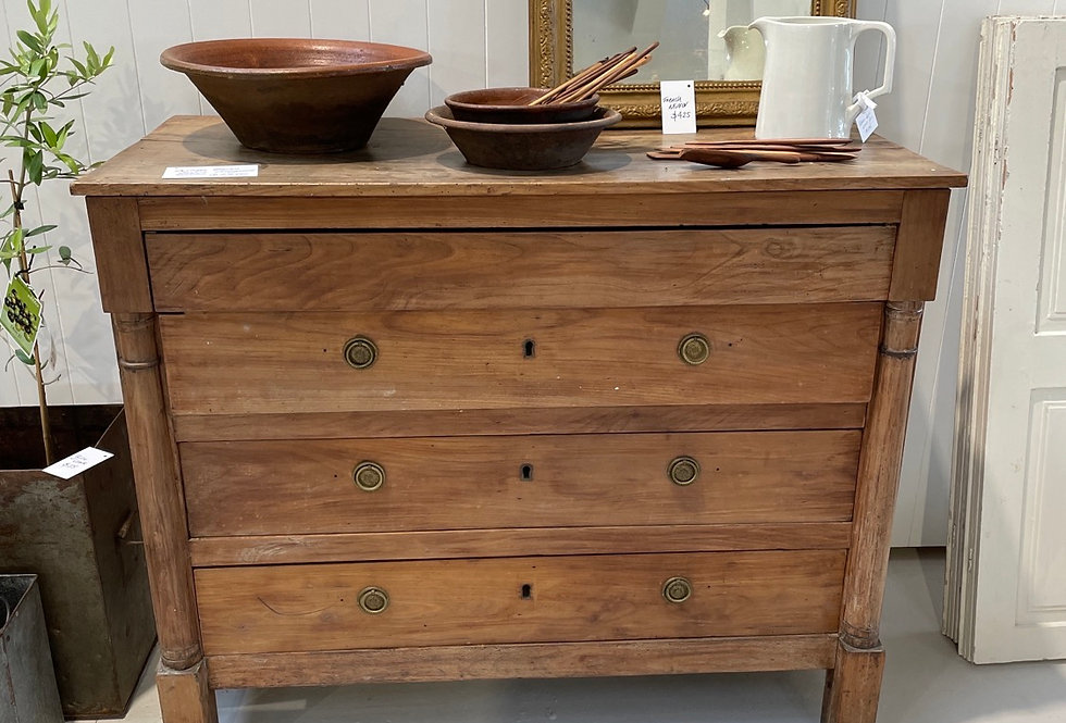 Antique French Empire Cherrywood Drawers
