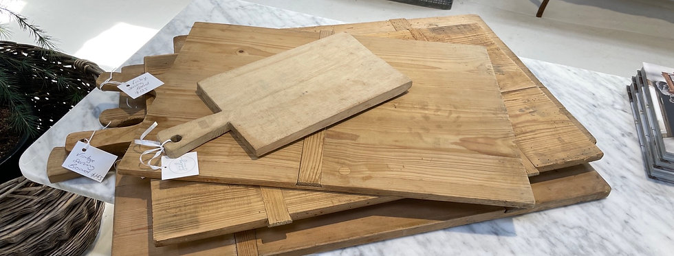 Vintage French Bread Board - Rectangle