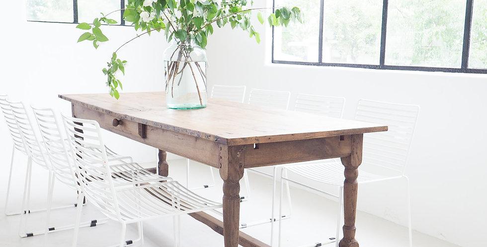 Rustic French Oak Farmhouse Table