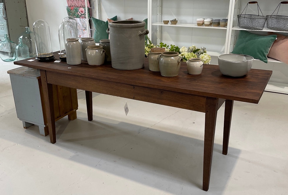 Simple French Oak Table