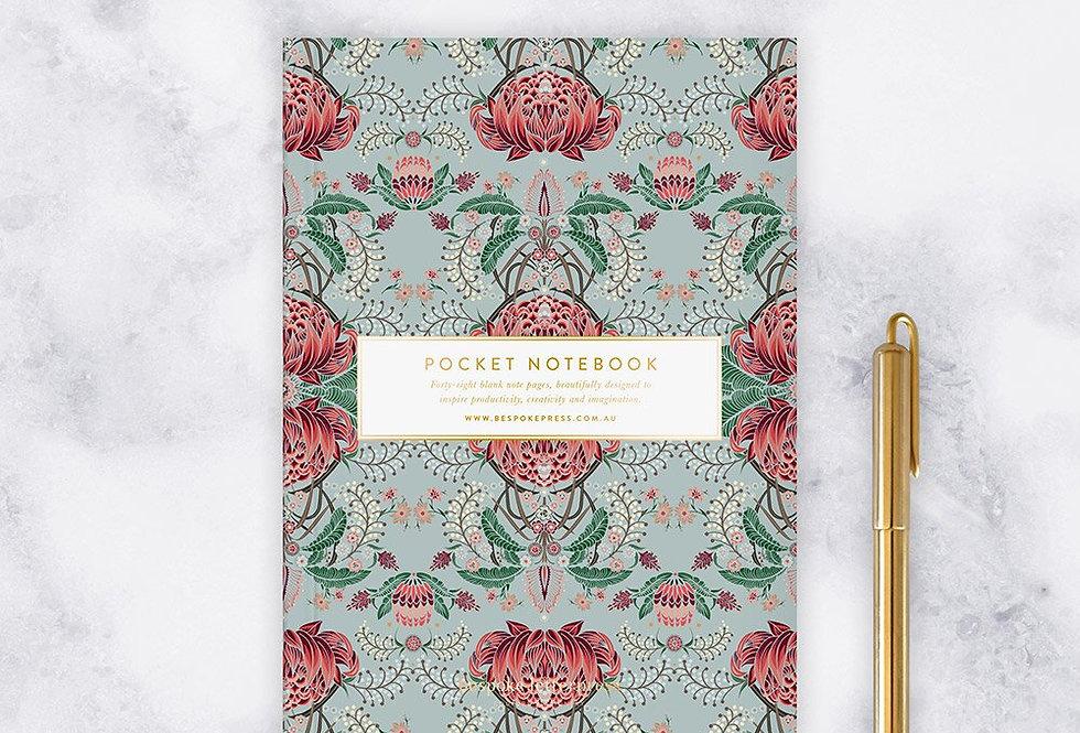 Bespoke Letterpress - Pocket Notebook 'Kaleidoflora'