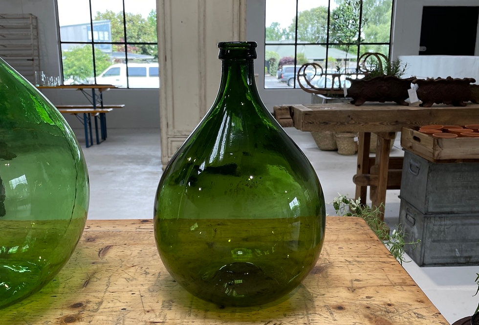 French Glass Wine Bottle - Small