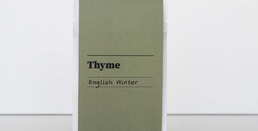 Gibson & Green Seeds - Thyme (English Winter)