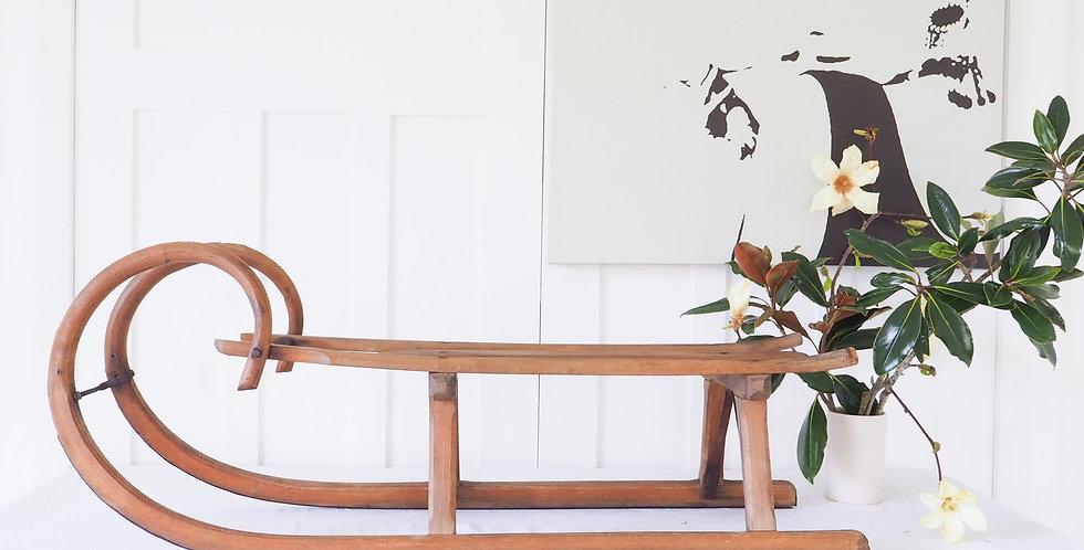 Vintage Timber Sleds - Large