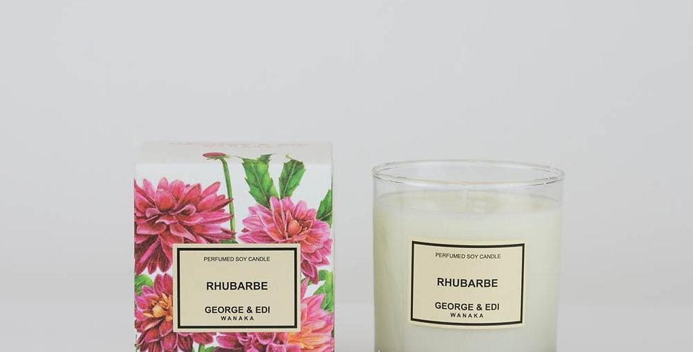 George & Edi Perfumed Soy Candle - Rhubarbe