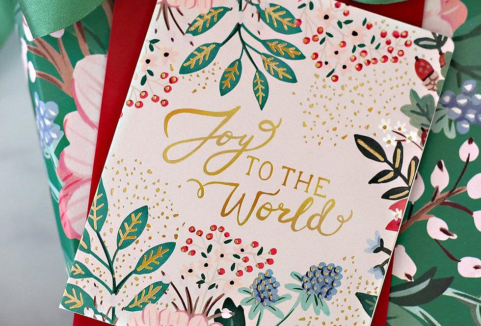 Bespoke Letterpress Christmas Greeting Card