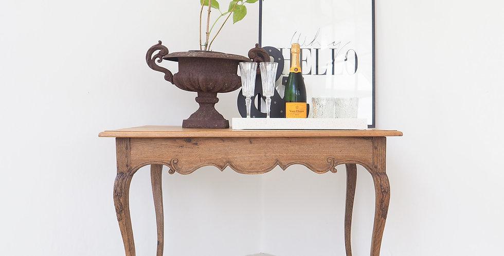 French Louis XV Oak Table