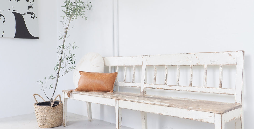 Vintage Timber Terrace Bench