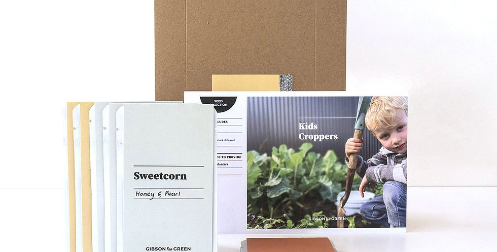 Gibson & Green Seed Selections - Kids Croppers