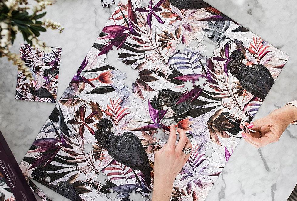 Bespoke Press - 'Black Cockatoo' Puzzle