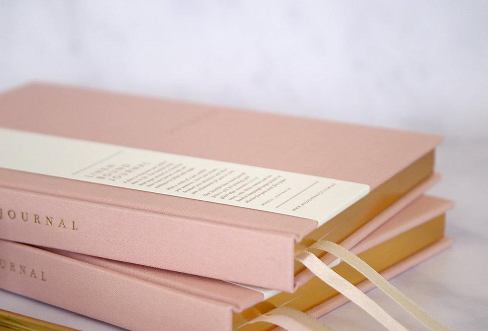 Bespoke Letterpress Linen Bound Journal