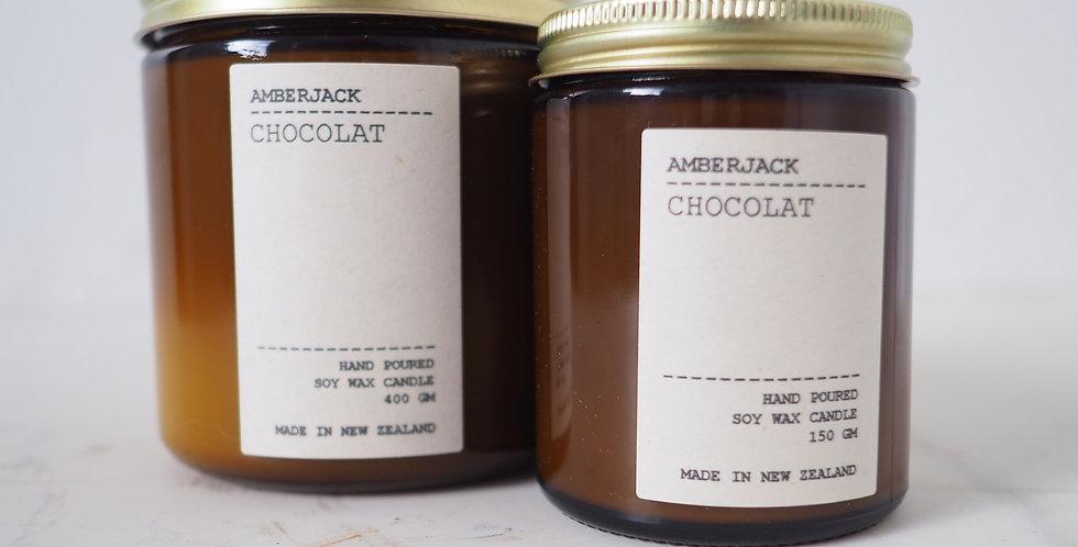 Amberjack Candle - Chocolat