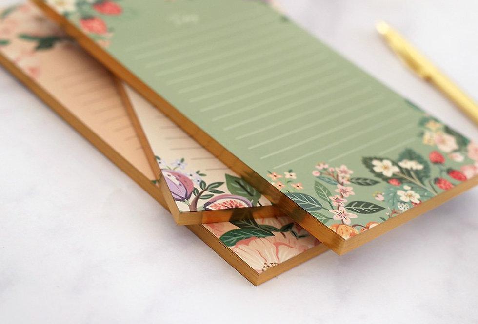 Bespoke Letterpress Notepad