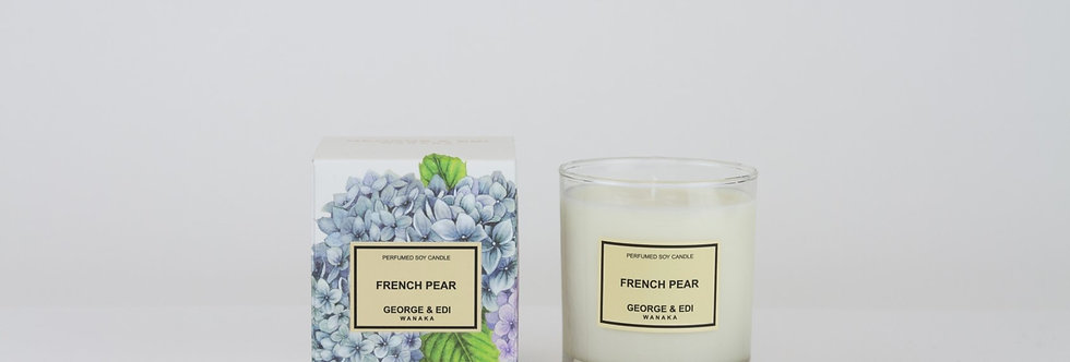 George & Edi Perfumed Soy Candle - French Pear