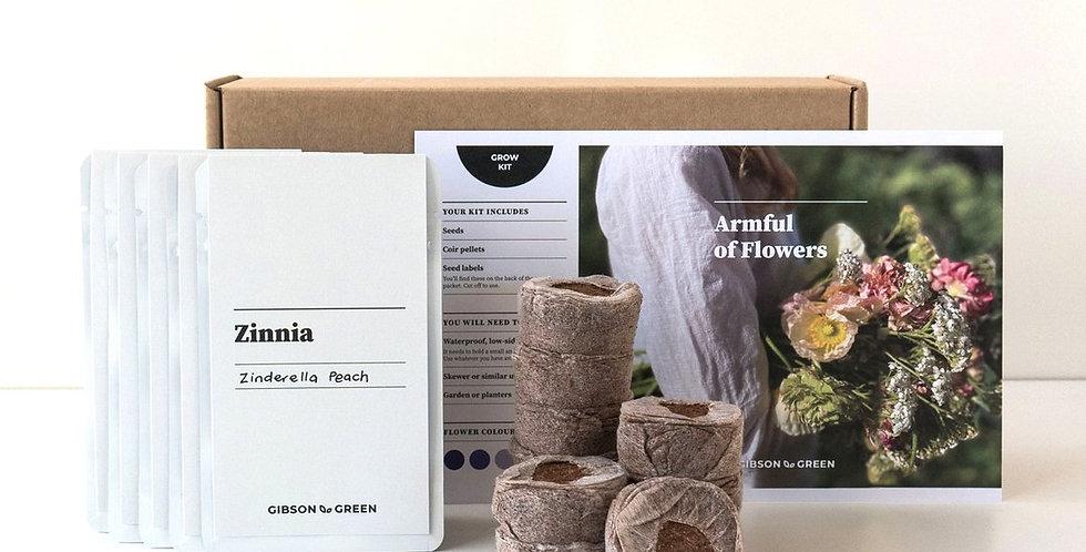Gibson & Green Grow Kit - Armful of Flowers