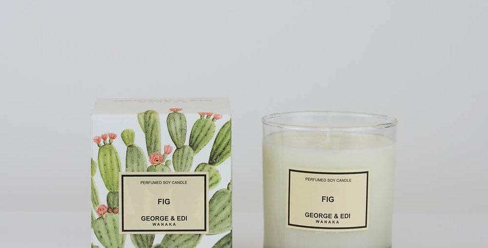 George & Edi Perfumed Soy Candle - Fig