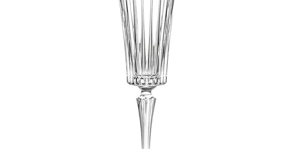 Italian Crystal Champagne Flutes