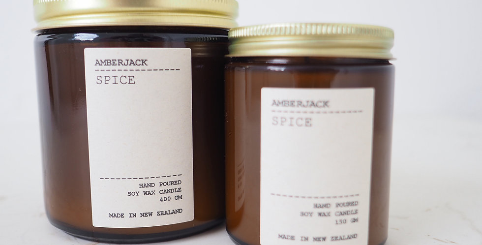 Amberjack Candle - Spice (Oriental Oud)