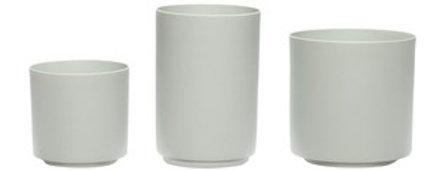 Hübsch Porcelain Tea Light Holder - Set of 3