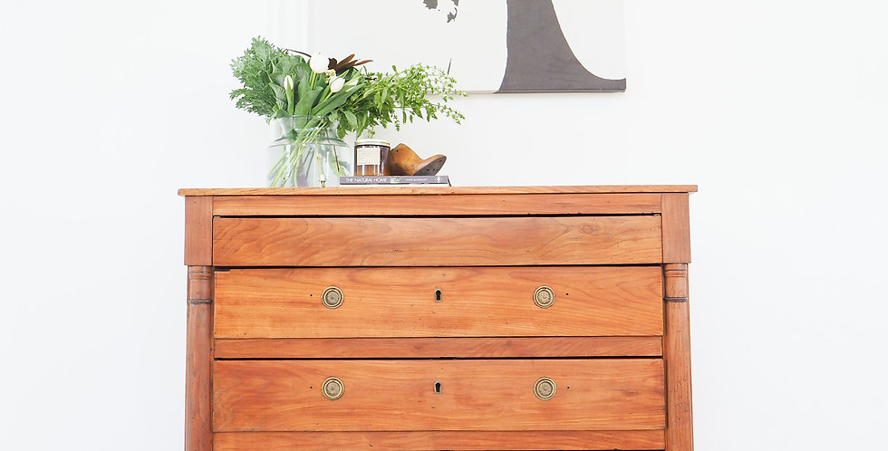 French Empire Cherrywood Drawers