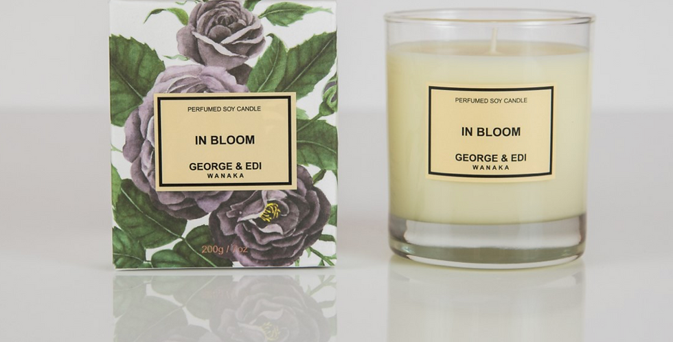 George & Edi Perfumed Soy Candle - In Bloom