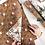 Thumbnail: Bespoke Letterpress Giftwrap - Christmas Pears / Swan Queen
