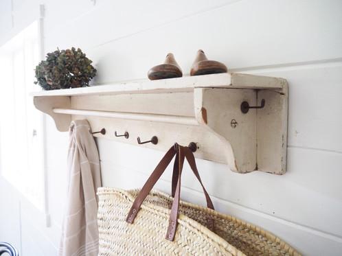Farmhouse Coat Rack With Shelf Interesting Farmhouse Coat Rack