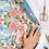 Thumbnail: Bespoke Letterpress Giftwrap - Garden Party / Strawberries