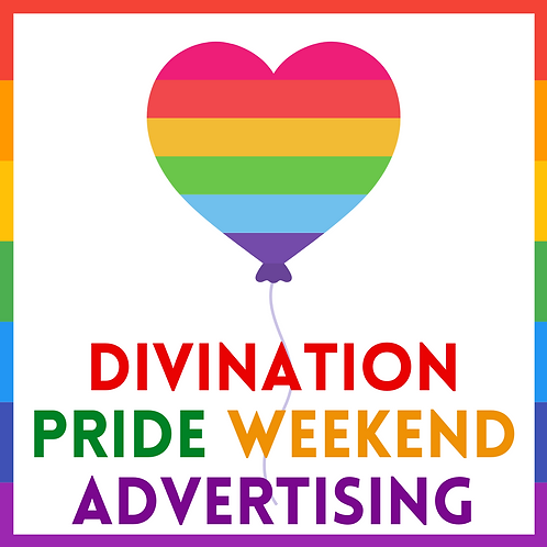 PRIDE WEEKEND ADS