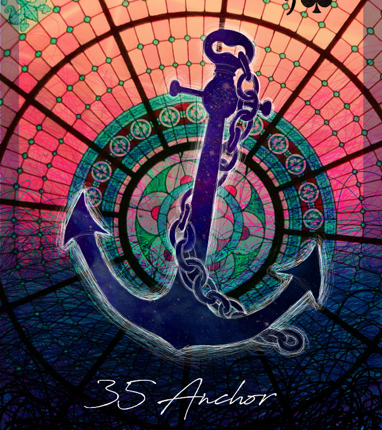 Lenormand 35. Anchor