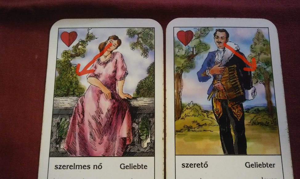 Sweetheart & Lover Gypsy Cards