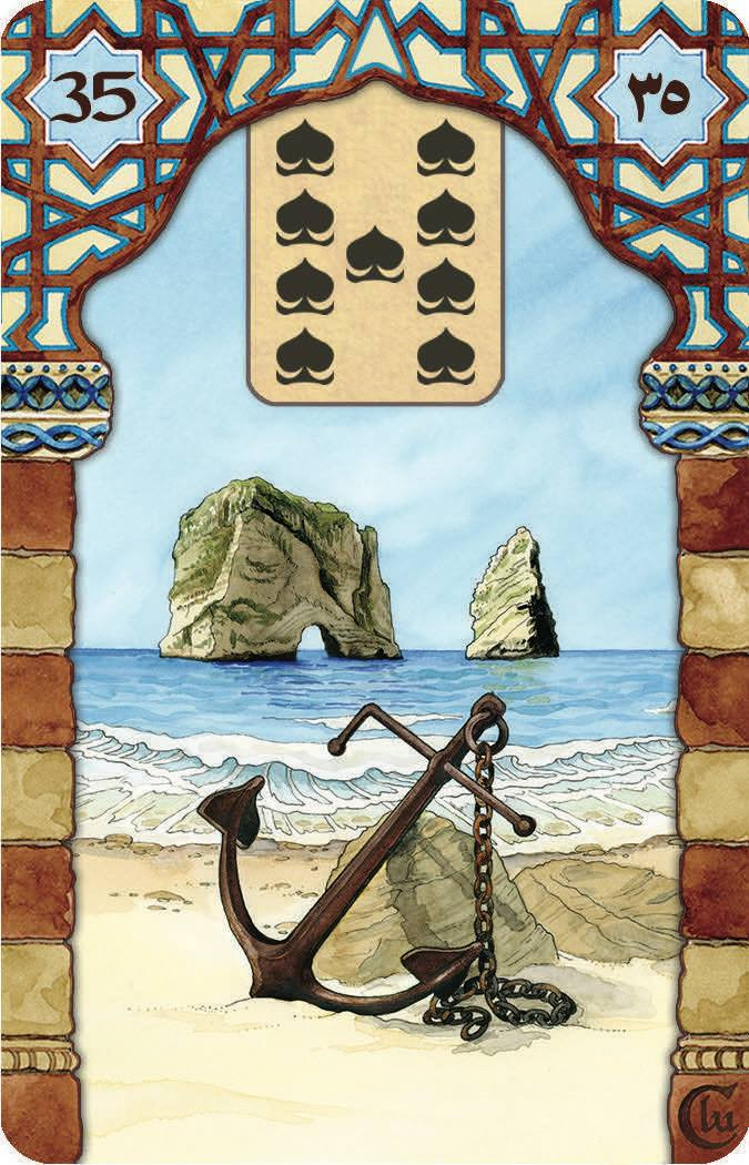 Rana George Lenormand Anchor by US Games Inc