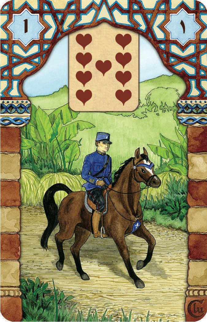 The Rana George Lenormand - Rider