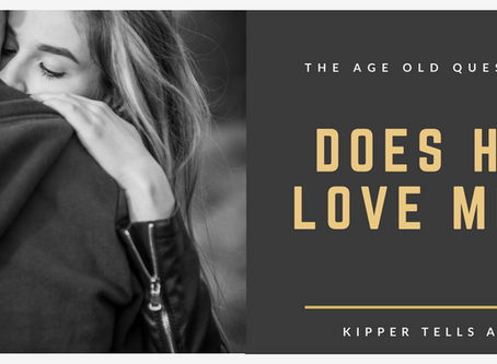 Does He (or She) Love Me? Kipper Spread