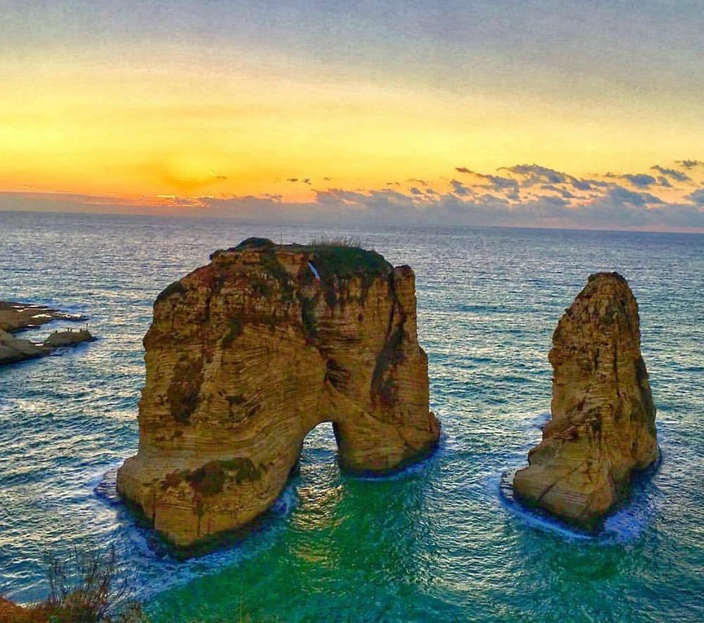 Rouche Rocks, Beirut