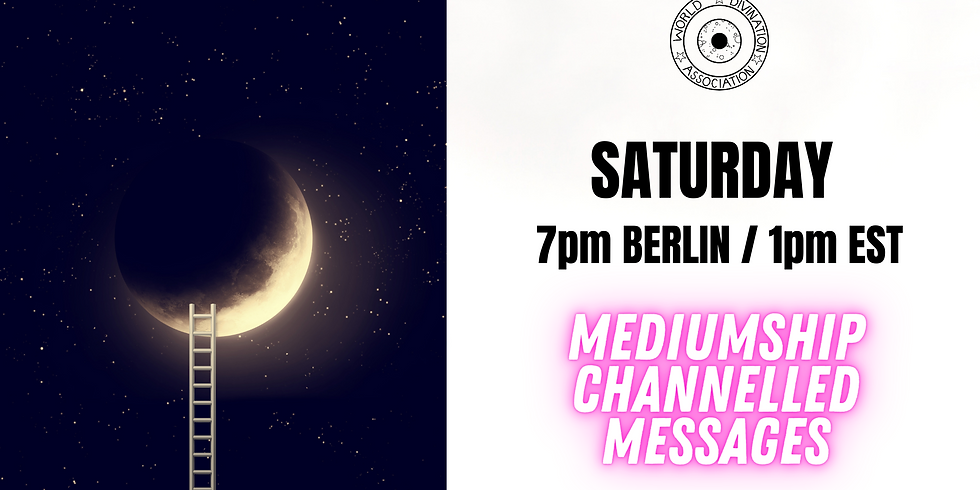 Mediumship Evening - messages & channel