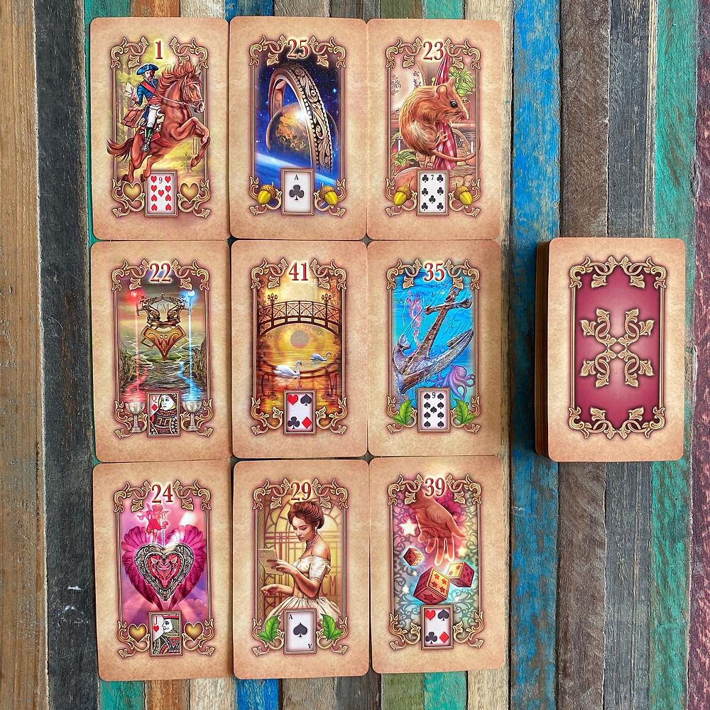 Sui Generis Lenormand - 9 Card Spread