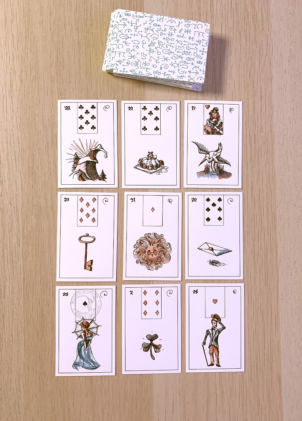 Maybe Lenormand Box Spread