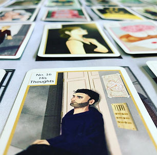 Kipper Cards 16. His Thoughts- Kipperkarten 16 Seine Gedanken