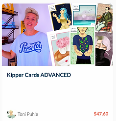 Kipper Cards Advanced Stop Cards