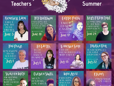 Tarot Summer School Register Today!