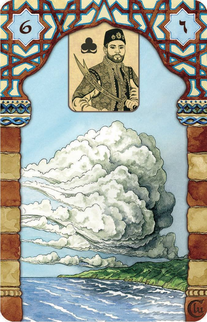 Rana George Lenormand Clouds with US Games Inc