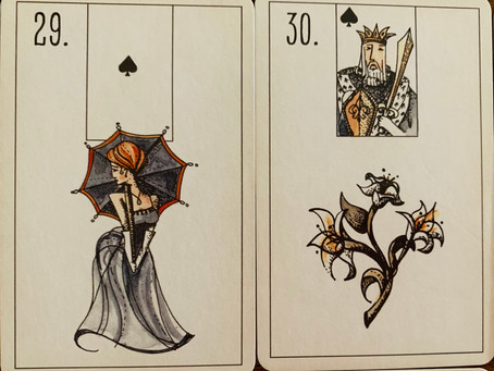 Lenormand 30 Lily - Confused?