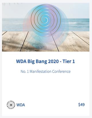 Tier 1 Big Bang