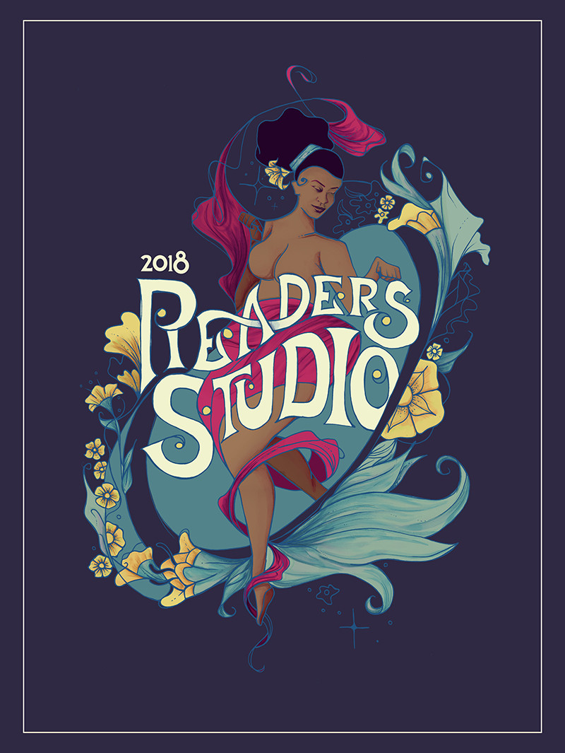 Readers Studio Poster 2018 by Ryan Edward