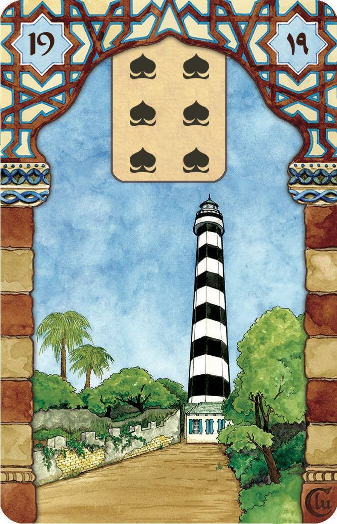 Rana George Lenormand 19. Tower